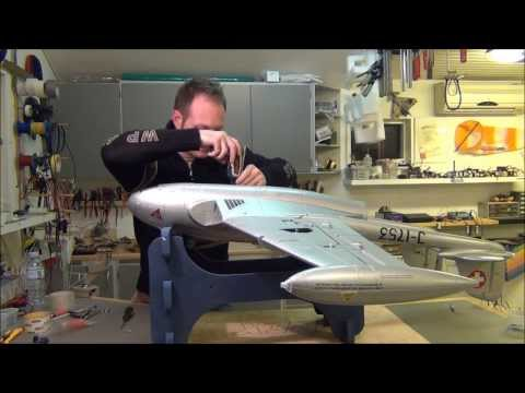 build video of the DH-112 Venom by Ready2fly.com