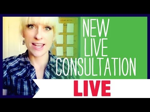 New LIVE Consultation Coming Today