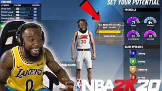 I PLAYED THE FULL VERSION OF NBA 2K20 EARLY! 99 OVERALL AND BADGES!
