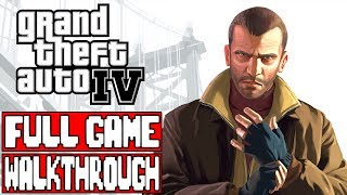 GRAND THEFT AUTO 4 Full Game Walkthrough - No Commentary