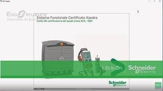 Utilizzare il software KAEDRA SFC – Schneider FAQ