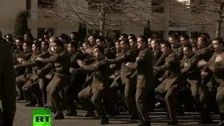 Video: New Zealand soldiers perform Haka for fallen comrades in Afghanistan