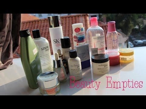 Beauty Empties - Products I've Used Up [July]