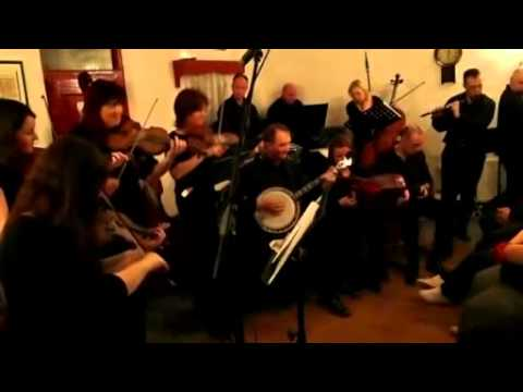 Kilfenora rehearse before live audience March '11.mp4
