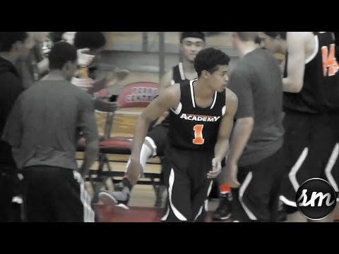 LJ Westbrook shows off his BOUNCE @ Kentucky Elite Shootout [22ft Academy c/o 2014]