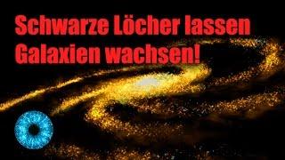 Schwarze Löcher lassen Galaxien wachsen! - Clixoom Science & Fiction