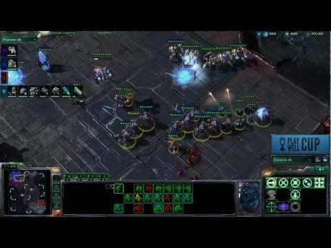 Starcraft 2 Play Well Cup Quarter Finals: SEGA Studios Australia vs. The Voxel Agents