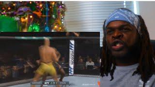 Anderson Silva vs Israel Adesanya [FIGHT HIGHLIGHS] - Reaction
