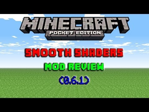 Minecraft Pocket Edition- Smooth Lighting Mod Review {0.6.1}