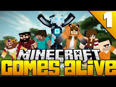 NEW SERIES! | Minecraft Comes Alive [Part 1] ft. Amanda Faye