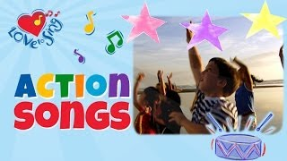 Touch the Stars with Lyrics | Kids Action Song | Children Love to Sing Fitness Song