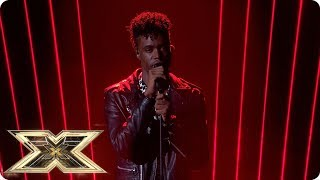 Dalton Harris sings Life of Mars | Live Shows Week 1 | The X Factor UK 2018