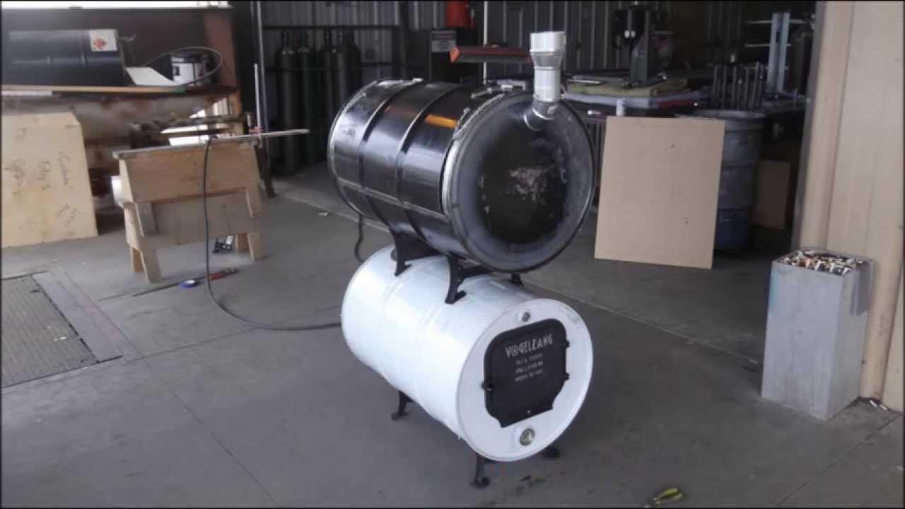 Double Barrel Smoker - YouTube