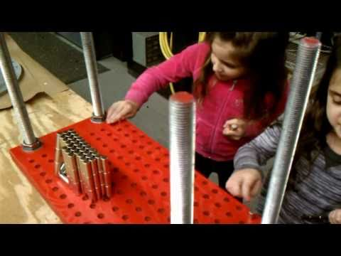 how to make a model of magnetic levitation train