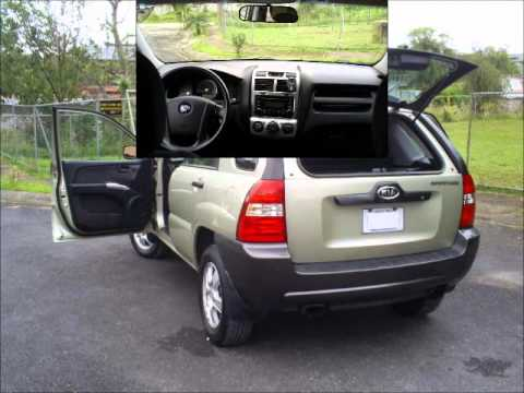 how to fix in a kia 2007 sportage
