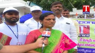 TNews Conducts Haritha Haram Program At Nizamabad | Telangana  live Telugu