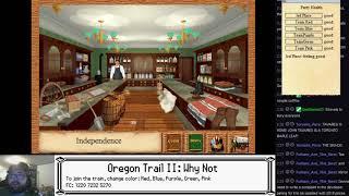 TKN Live: Oregon Trail II with Teams - Attempt 64