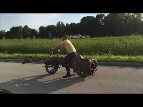 スターウォーズのスピ―ダーが超本格的な自作バイクに!?