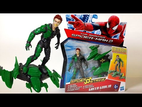 The Amazing Spider-Man 2 GREEN GOBLIN Action Figure Review