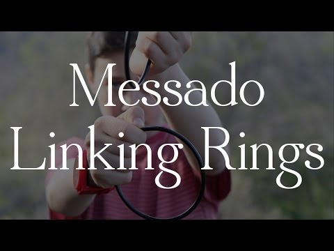 The Messado Linking Rings- Performed by Jackie Radinsky & Max Brody