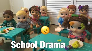 BABY ALIVE School lunch Drama!