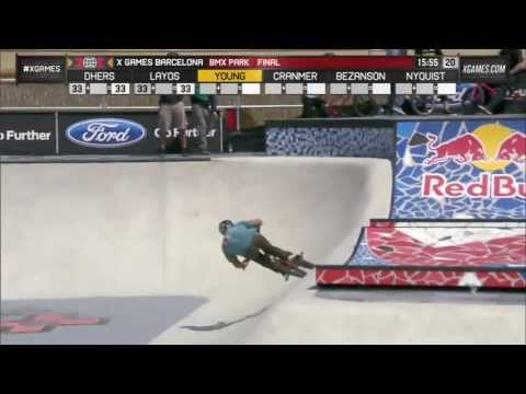 X Games 2013 Barcelona Gary Young Gold medal BMX PARK