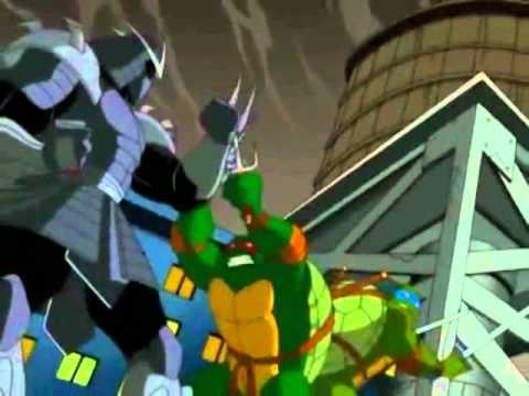 tmnt 2003 shredder first fights youtube