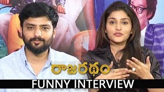Nirup Bhandari and Avanthika Funny Interview about Rajaratham Movie | Arya, Rana