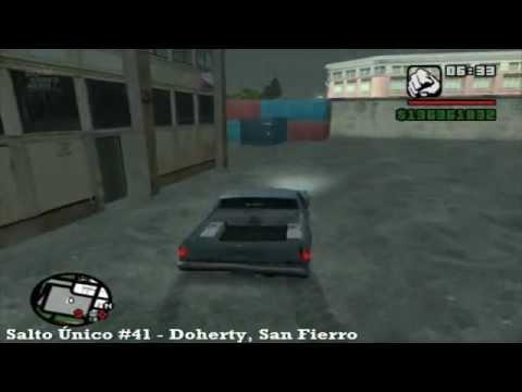 GTA San Andreas – Salto Único #41 Doherty, San Fierro – MQ