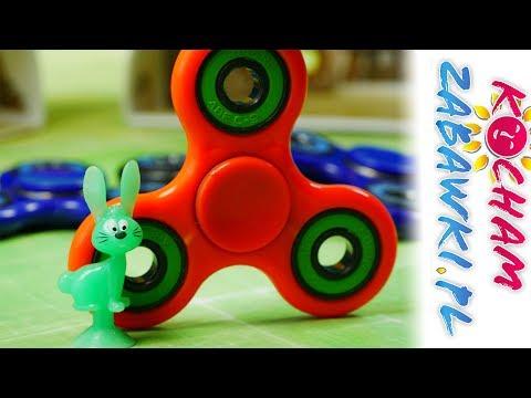 Fidget Spinner - Smerfy Stikeez Lidl - bajki dla dzieci i kreatywne zabawki
