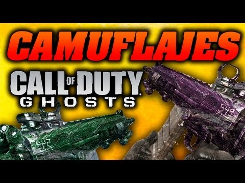 Camuflajes Call Of Duty: Ghosts   Custom. Plata. Tigre Rojo   Buscar Y Rescatar Gameplay 1080p