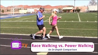 Race Walking vs. Power Walking
