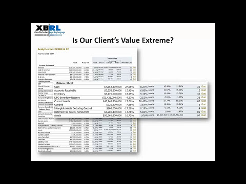 The Use of XBRL Data in Auditing - Best Practices Board Webinar Series