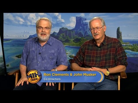"Directors Ron Clements & John Musker On ""Moana"""