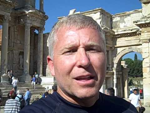 Traveling Jobs: Mark Ewing at Ephesus, in Turkey (Traveling Jobs)