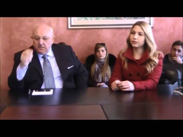 Filmato Conferenza stampa presentazione assessore donna