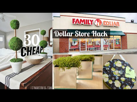 30 Decor ideas from dollar store