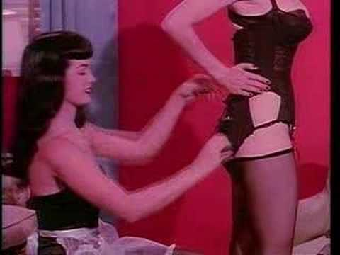 Bettie Page & Tempest Storm, Teaserama Video