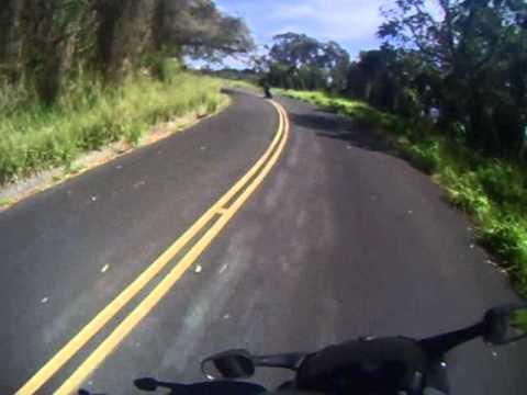 Tantalus, Hawaii - Suziki DR-Z400SM.wmv