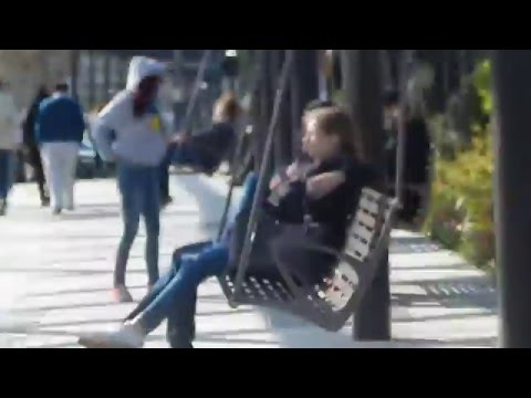 Swinging Benches in Boston's North End