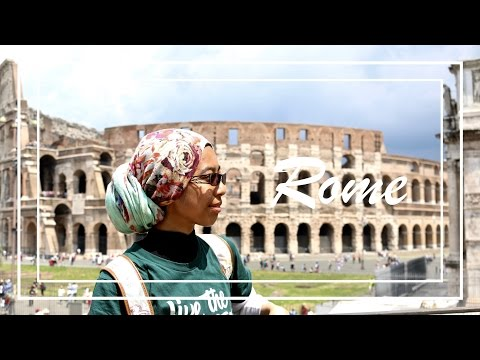 Typical Tourists in Rome \\ WAYFARING • RAMADAN
