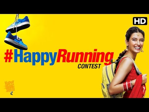 #HappyRunning Contest Featuring Diana Penty | Happy Bhag Jayegi