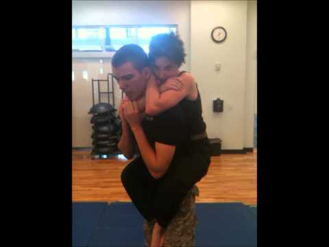 Krav Maga Flying Rear-Naked Choke