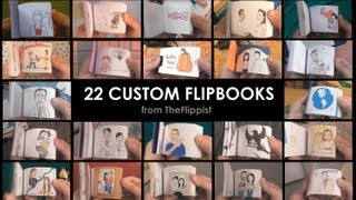 Hand Drawn Flipbook Compilation