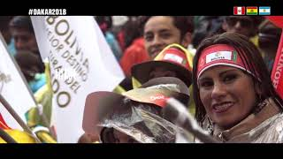 DAKAR 2018 01 20 MAZ TEAM  FINAL DAY CEREMONY MAZ TEAM
