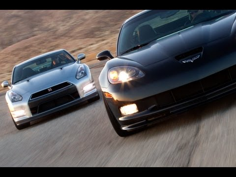 2012 Chevrolet Corvette Z06 vs. 2013 Nissan GT-R Video -- Inside Line