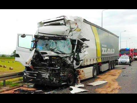 Best truck crashes, truck accident compilation 2016 Part 11