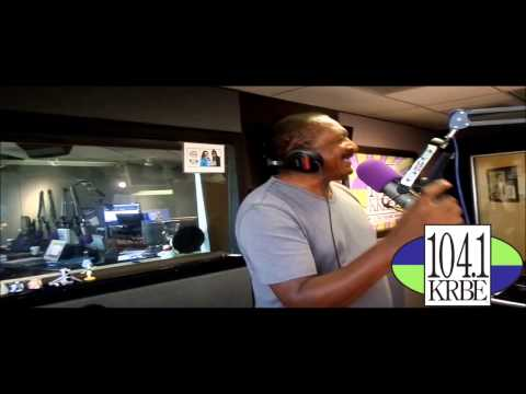 Mathew Knowles visits The Roula and Ryan Show on 104.1 KRBE
