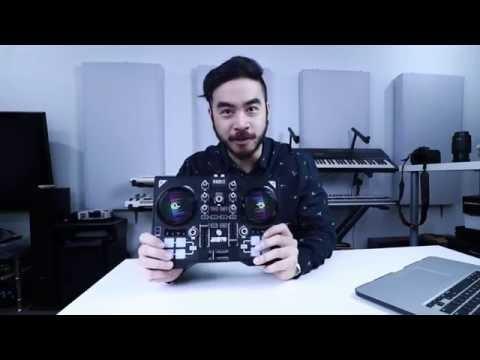 Hercules DJControl instinct P8 Talkthrough Video