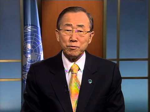 Ban Ki-moon, UNESCO Event on Girl's Education, Human Rights Day 2012